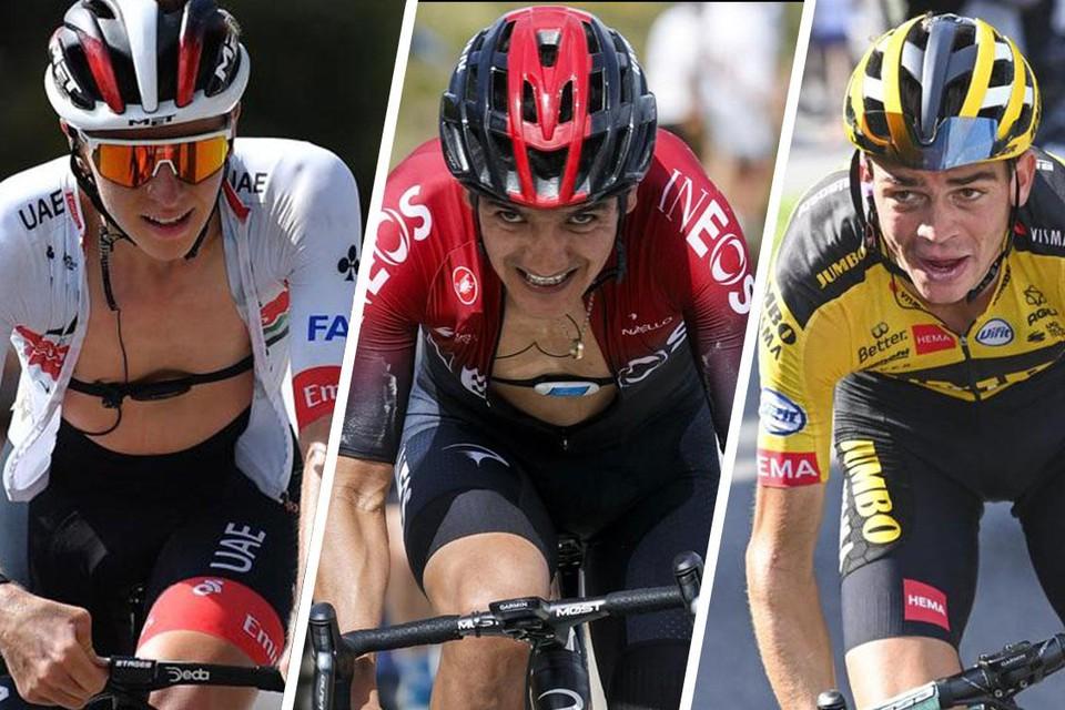 Tadej Pogacar, Richard Carapaz en Sepp Kuss: drie debutanten die meteen willen schitteren in de Tour