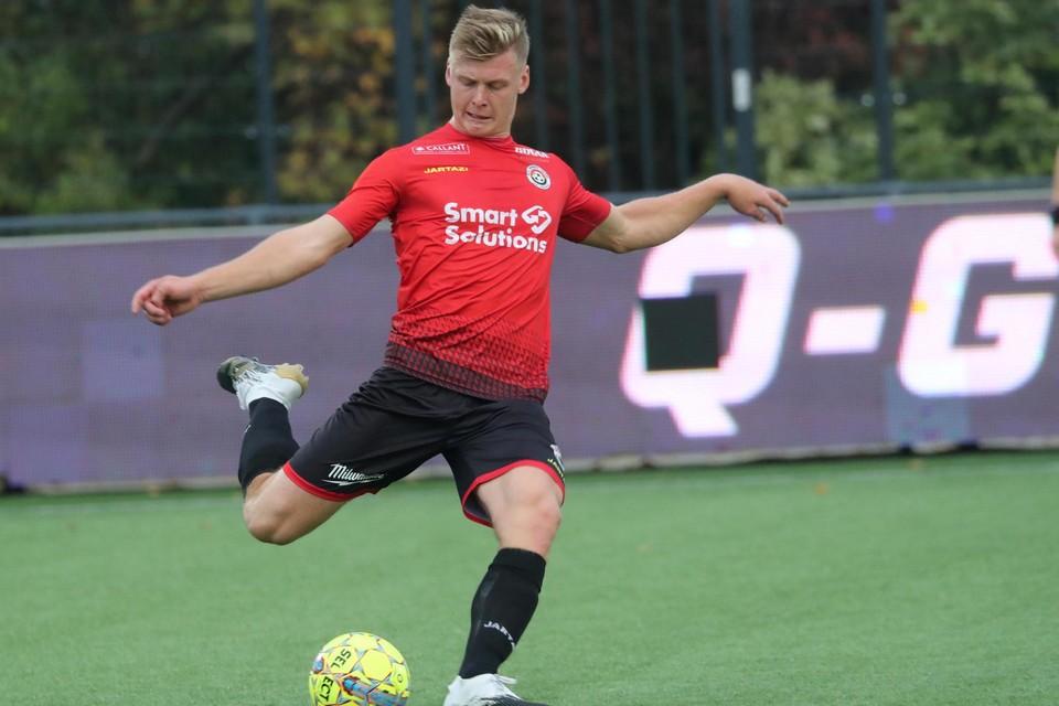 Henri Van Marcke speelde in de jeugd bij Winkel maar is nu al jaren aan de slag bij Mandel.