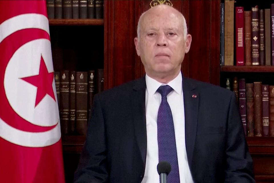 De ingrepen van de Tunesische president Kais Saied worden als een staatsgreep beschouwd.