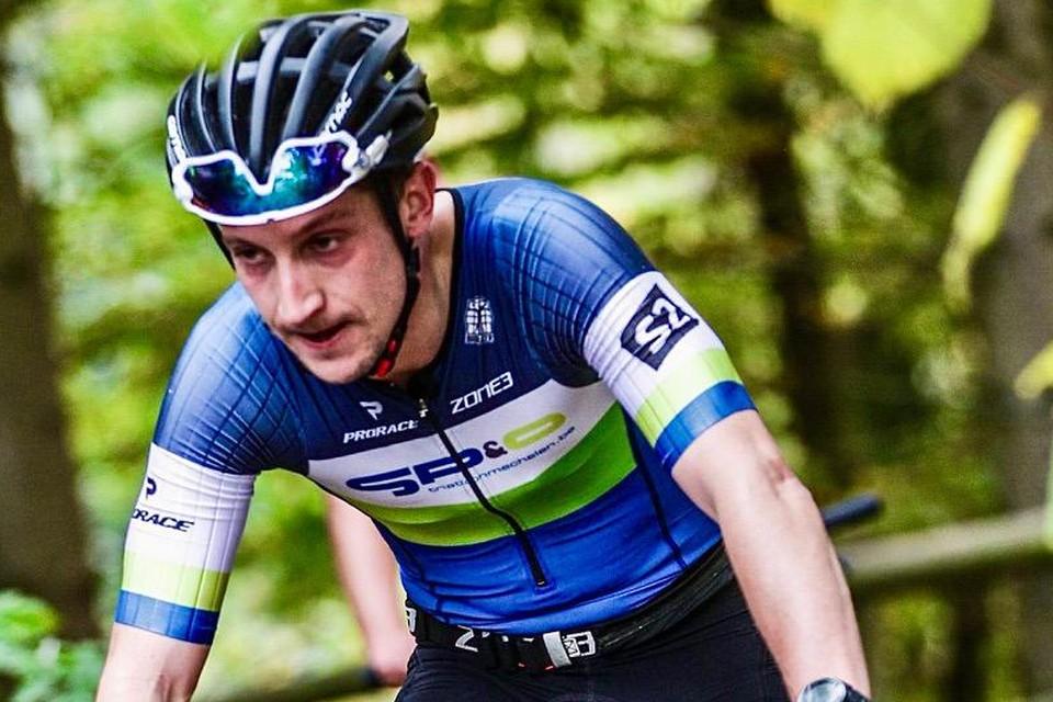 Het fietsen bezorgt Joeri Deleebeeck een boost.
