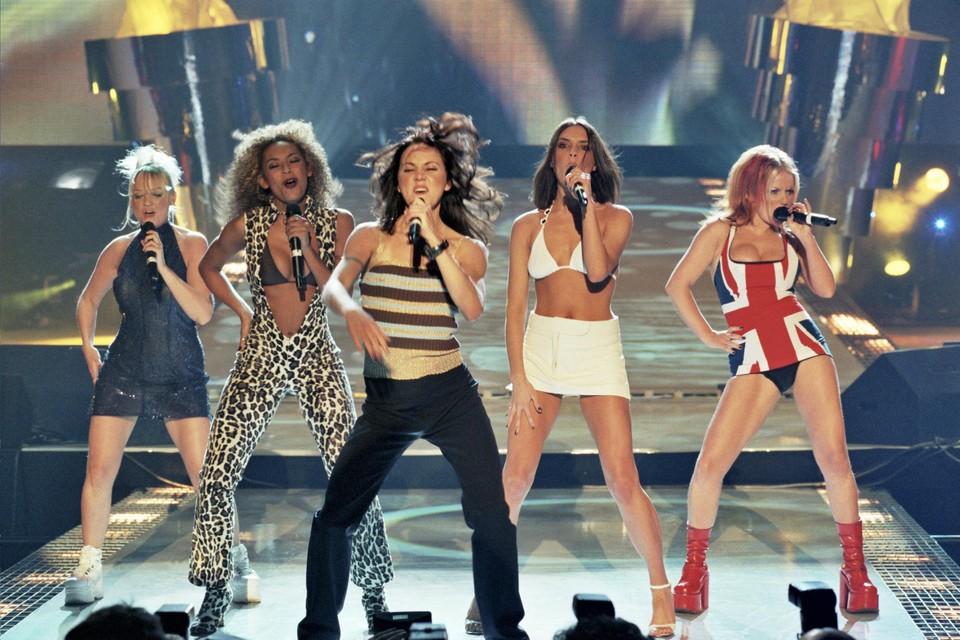 De Spice Girls anno 1997.