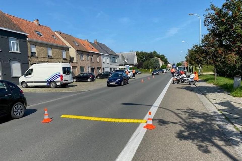 De politie liet 100 bestuurders blazen.
