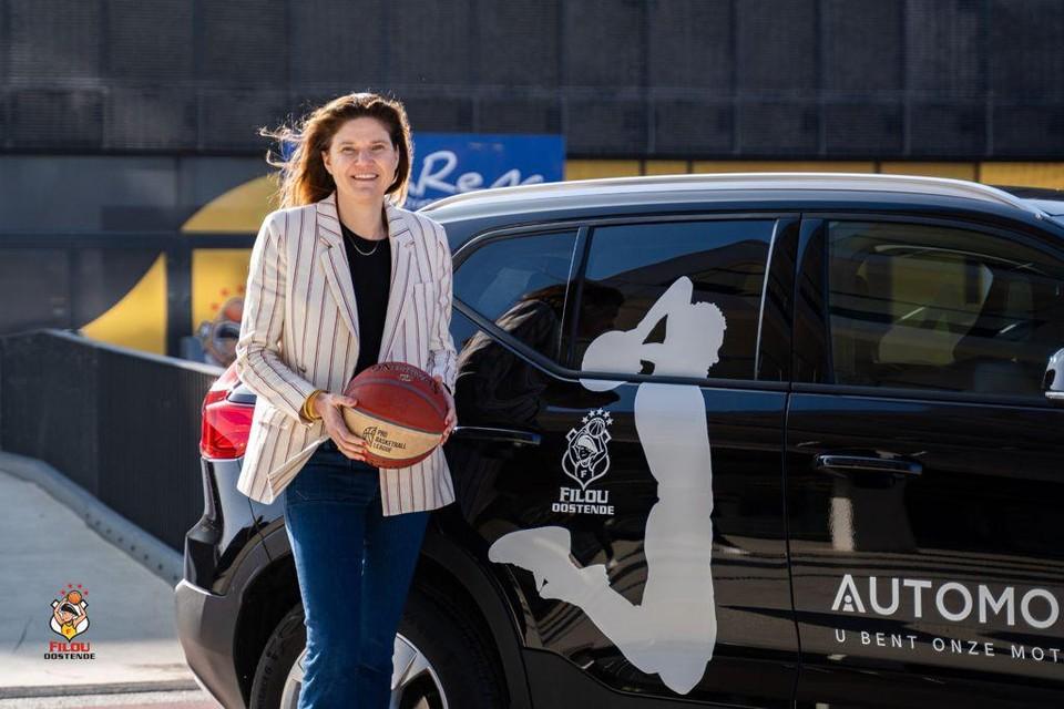 Marie De Clerck was één van de speelsters die 25 jaar geleden voor het laatst Europees basketbal speelde in Kortrijk.