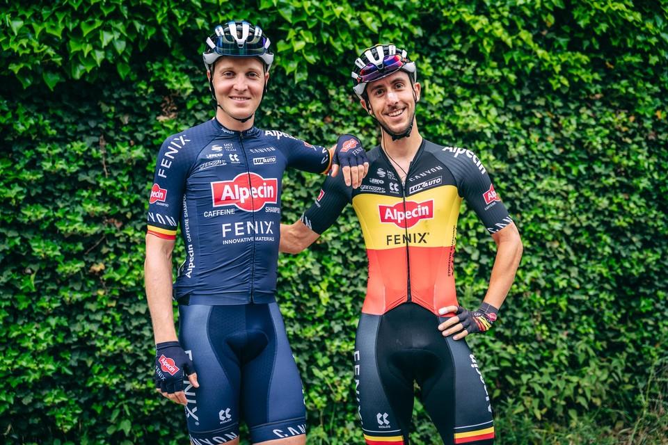"""Merlier en De Bondt willen de Belgische trui graag voor het derde jaar op rij in eigen rangen houden. """"Het is de mooiste trui die er is."""""""