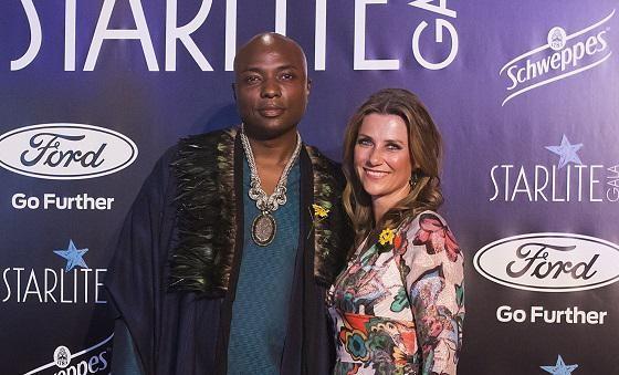 Märtha Louise met haar nieuwe Amerikaanse vriend Durek Verrett.