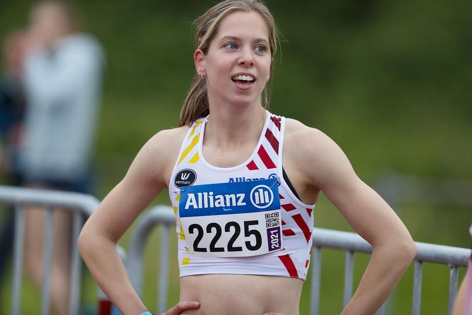 Justine Goossens hoopt dat blessures haar niet zullen afremmen.