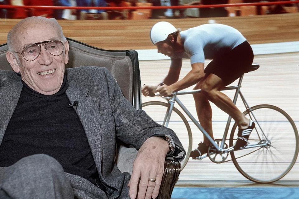 Op de Olympische Spelen van 1980 rijden de renners in een 'skinsuit' van Assos, het bedrijf van uitvinder Toni Maier-Moussa.