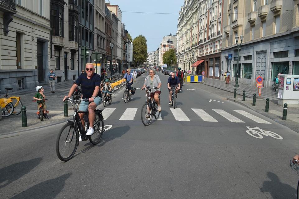 Door de afwezigheid van auto's was de luchtkwaliteit in Brussel zondag een pak beter.