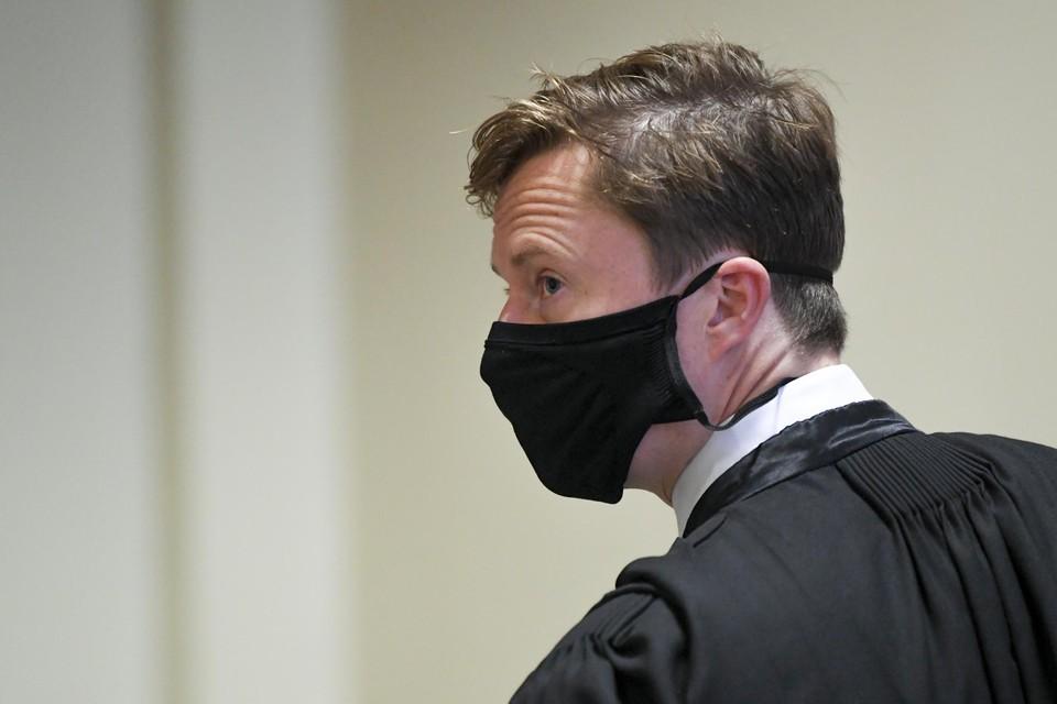 De advocaat van Patrick De Koster, Louis De Groote.