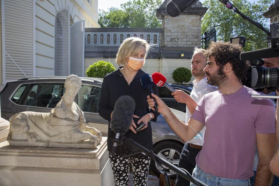 Vlaams minister van Economie Hilde Crevits (CD&V)