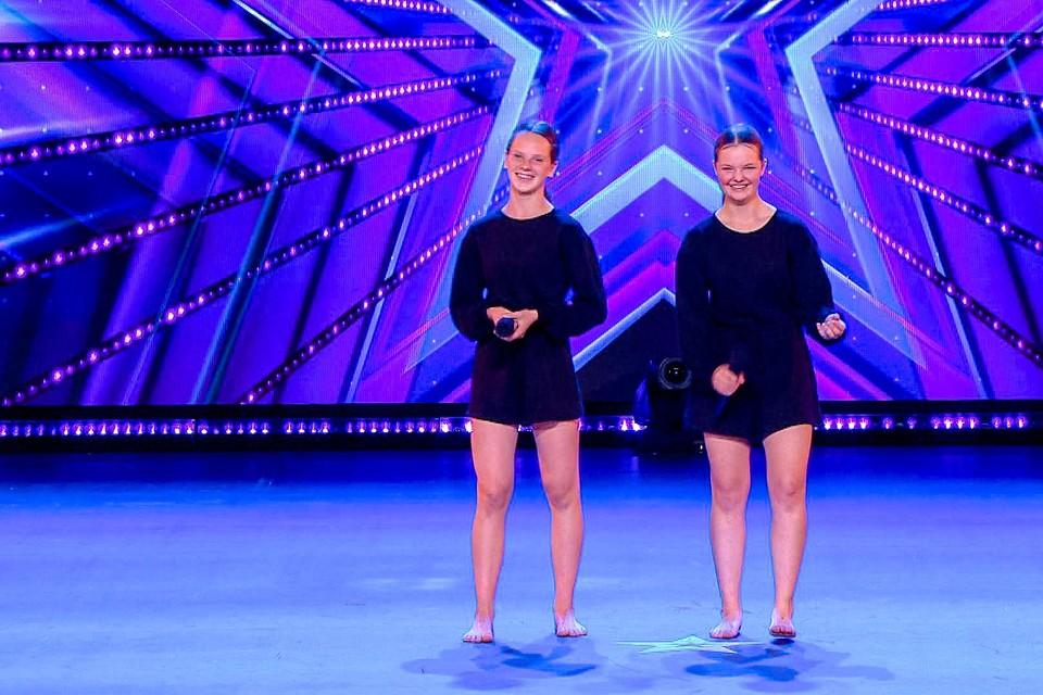 Kona en Kato zetten vrijdagavond hun beste beentje voor in Belgium's Got Talent.