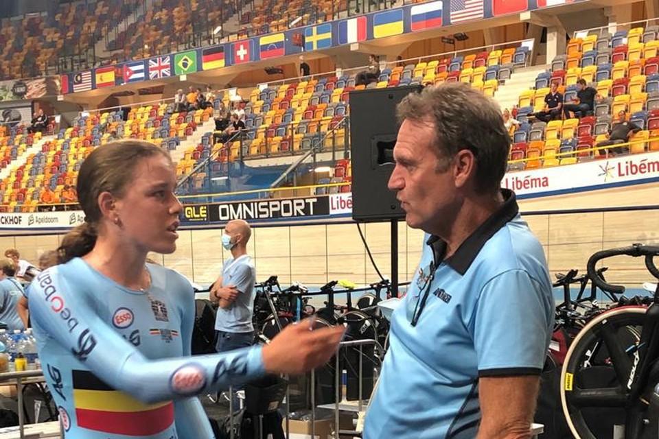Katrijn De Clercq tankte door haar sterke prestatie vertrouwen voor de ploegkoers van later deze week.