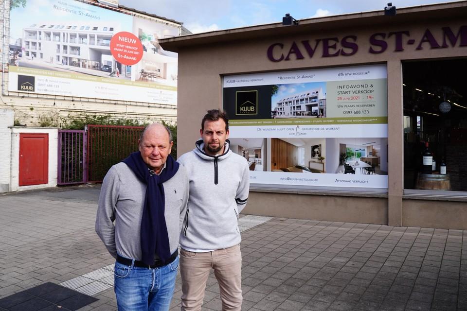 Luc en Guillaume Morel van Caves St-Amand