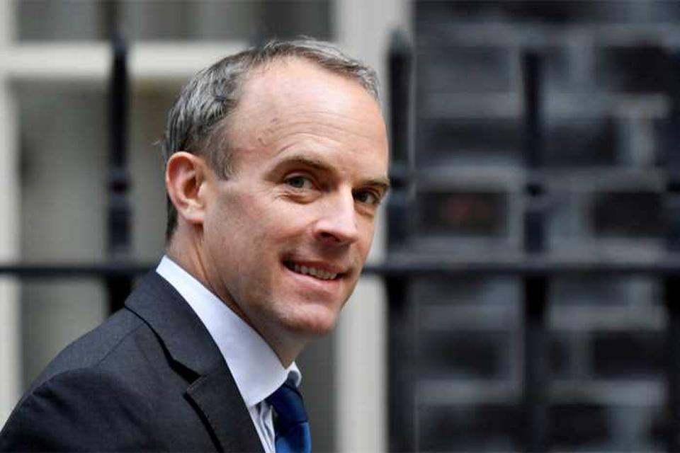 Dominic Raab  wordt nu minister van Justitie