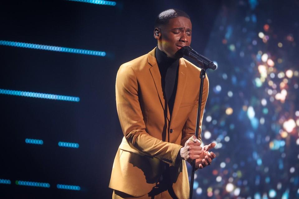 Jérémie Makiese (21),winnaar van 'The voice Belgique', gaat voor ons land naar het Songfestival 2022.