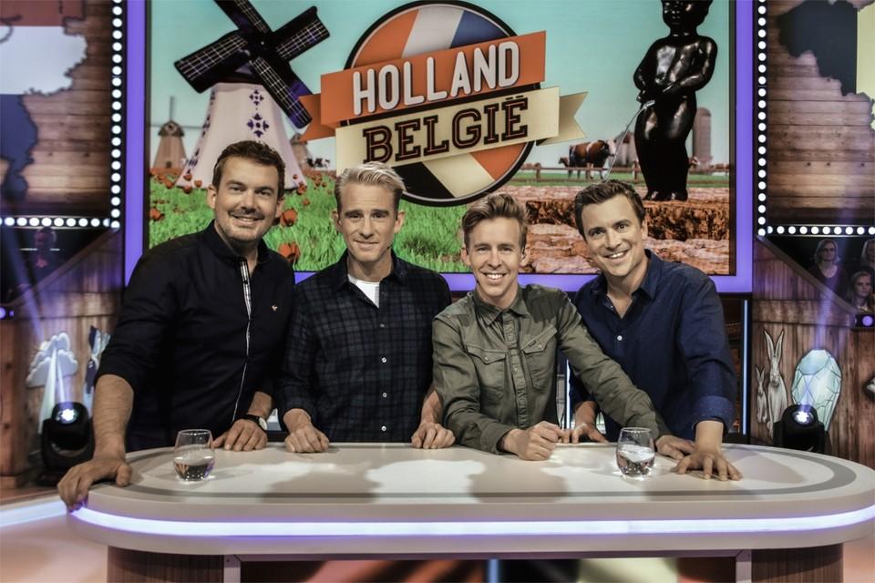In Holland-België wordt de oeroude strijd tussen Nederland en België op ludieke manier uitgevochten.