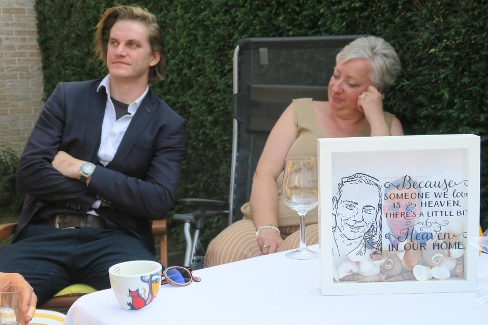 Ook de kameraden van Didier woonden de herdenking bij.