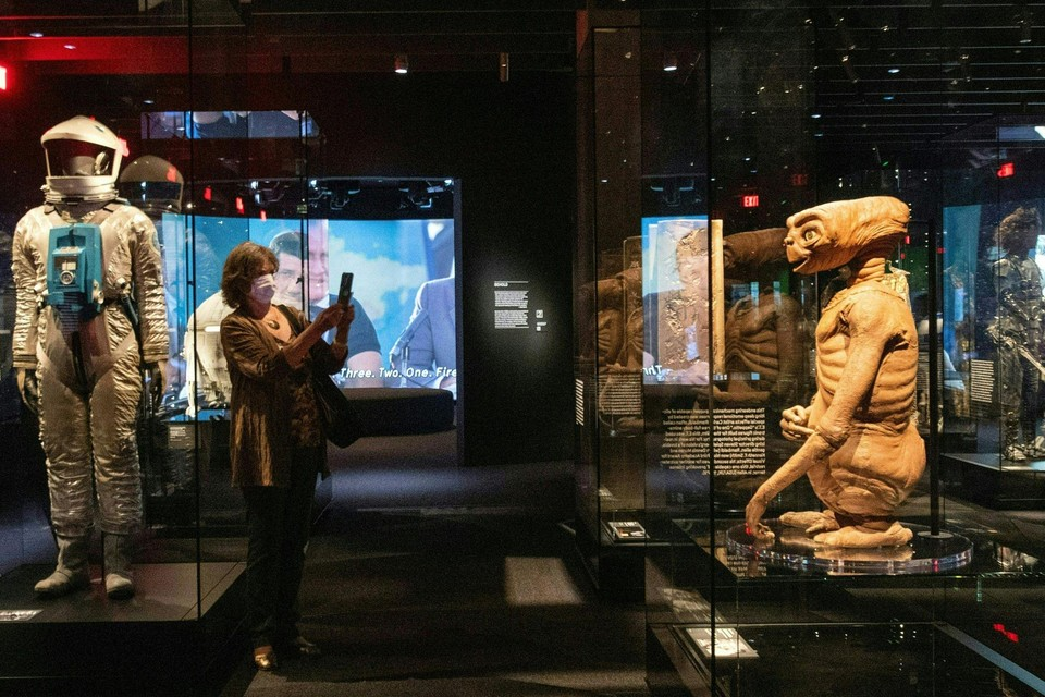 """Van """"2001: A Space Odyssey"""" naar E.T. is maar een kleine stap in het fonkelnieuwe Academy Museum Of Motion Pictures in Los Angeles."""