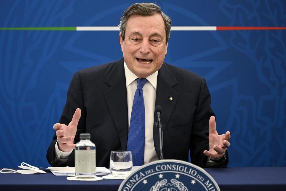 Premier Mario Draghi.