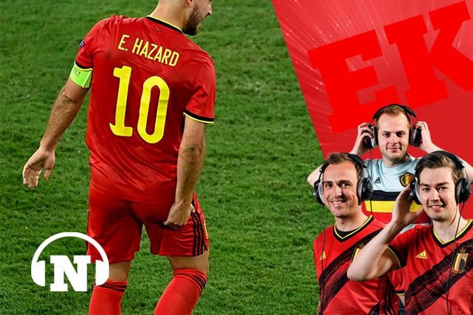 De blessure van Eden Hazard zal tot het eerste fluitsignaal in België - Italië voor stress zorgen.