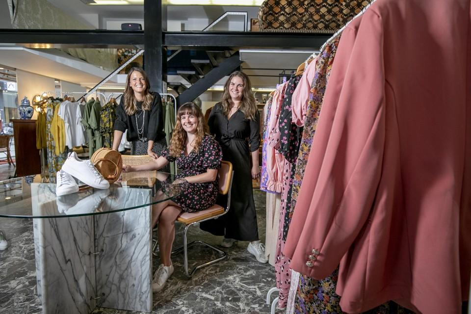 Bo, Margo en Kaat openden een Pop-Up Conceptstore in het centrum van Mechelen.