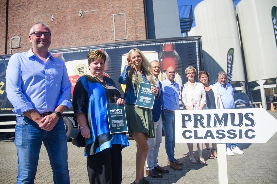 De organisatie van de primus Classic.