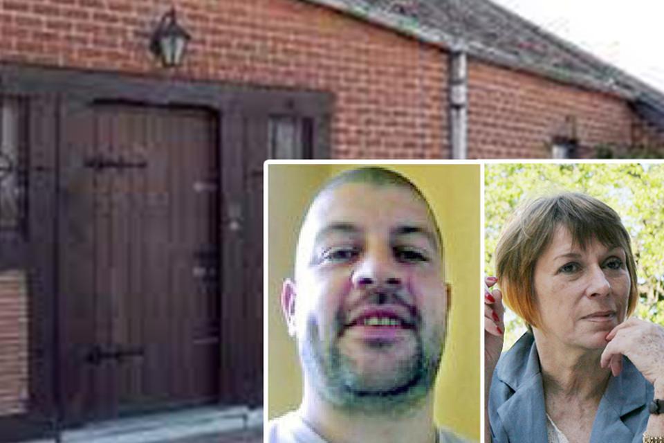 In dit huis doodde Grégory Dalne in 2013 tijdens een ruzie zijn vrouw Sylviane.