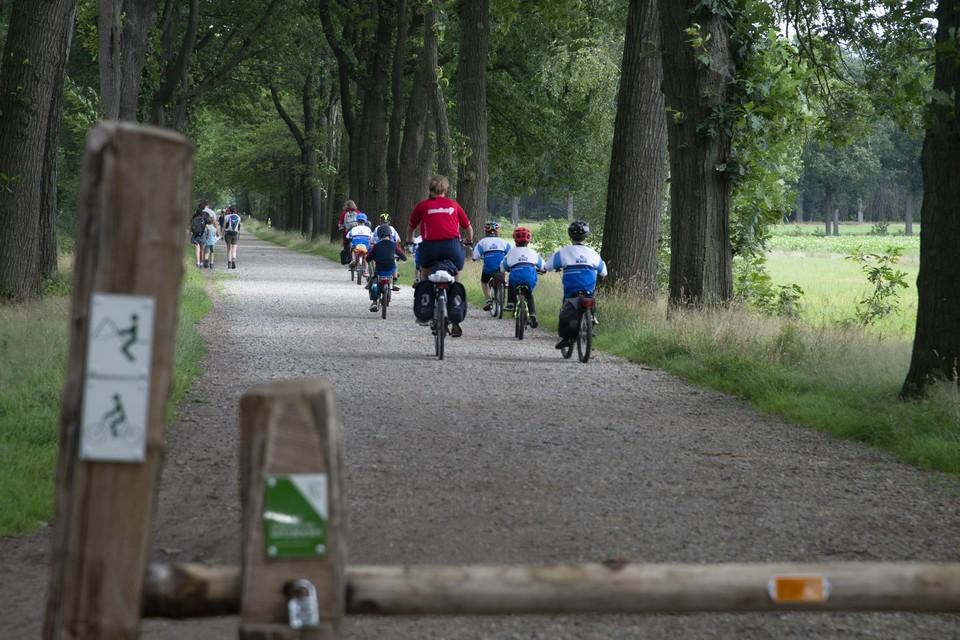 Wortel-Kolonie is een uniek domein, populair bij fietsers en wandelaars.