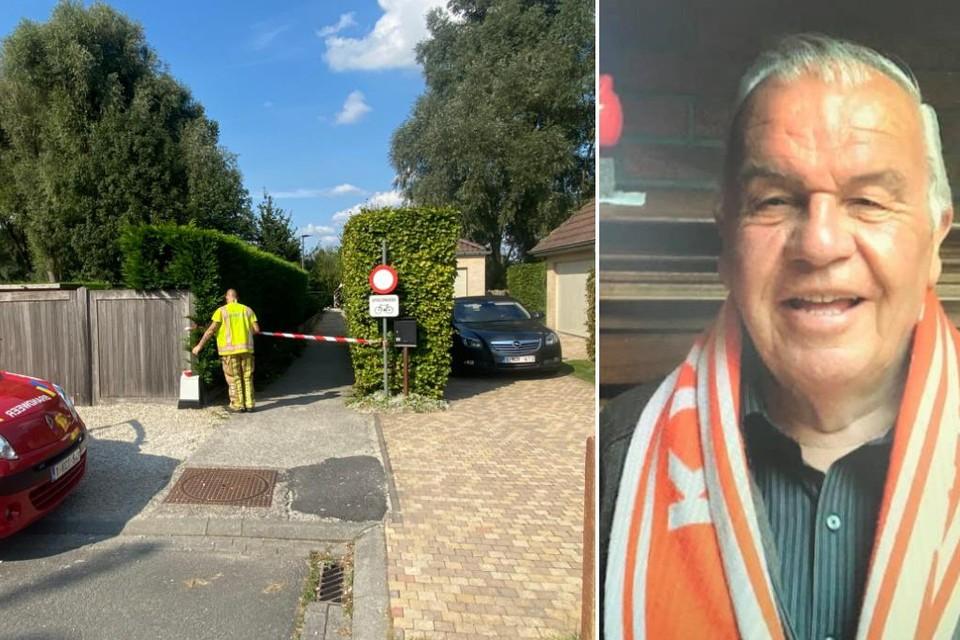 Jacques Destadsbader fietste door het steegje in de buurt van zijn woning, toen hij om nog onbekende reden in de Heulebeek terechtkwam en verdronk.