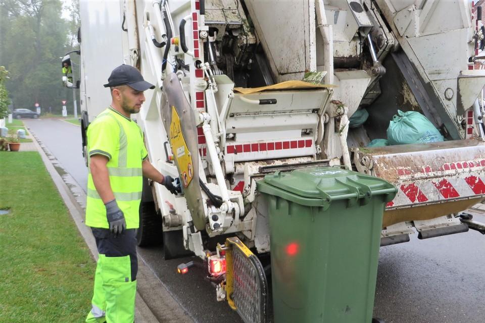 GFT afval moet vanaf nieuwjaar aangeboden worden in een container.