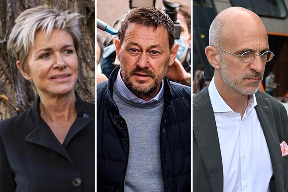 Advocaat Christine Mussche, Bart De Pauw en advocaat John Maes