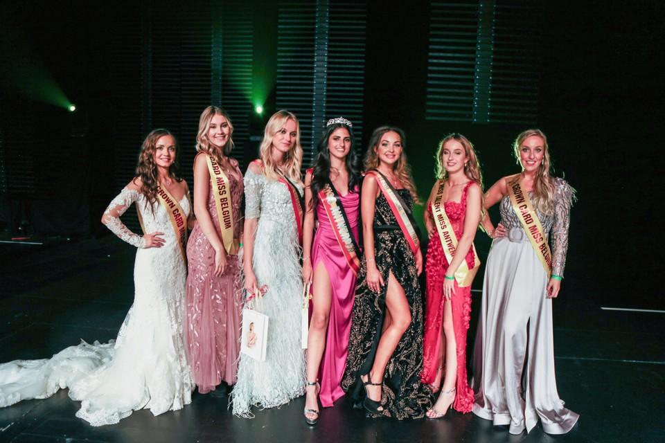 Nominasi Miss Antwerpen.