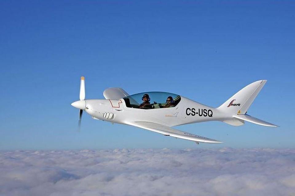 In dit vliegtuigje zal Zara binnenkort vliegen