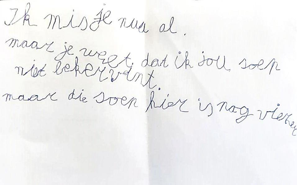 Eva, 8 jaar uit Bredene