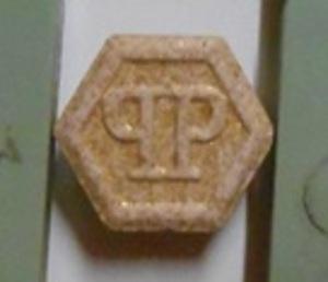 De pillen met de zeer hoge dosis MDMA.