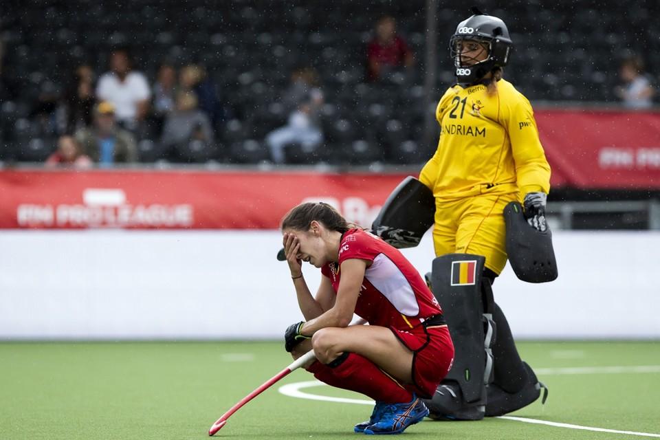 De Belgische hockeyvrouwen misten voor de tweede keer op rij hun olympische selectie. Zij beginnen deze week aan een nieuw seizoen.