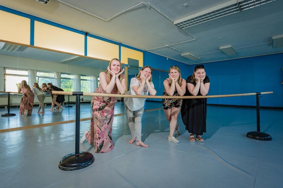 Dansstudio Marlynes gaat van drie naar twee danszalen, maar ze willen niet aan het aanbod raken.