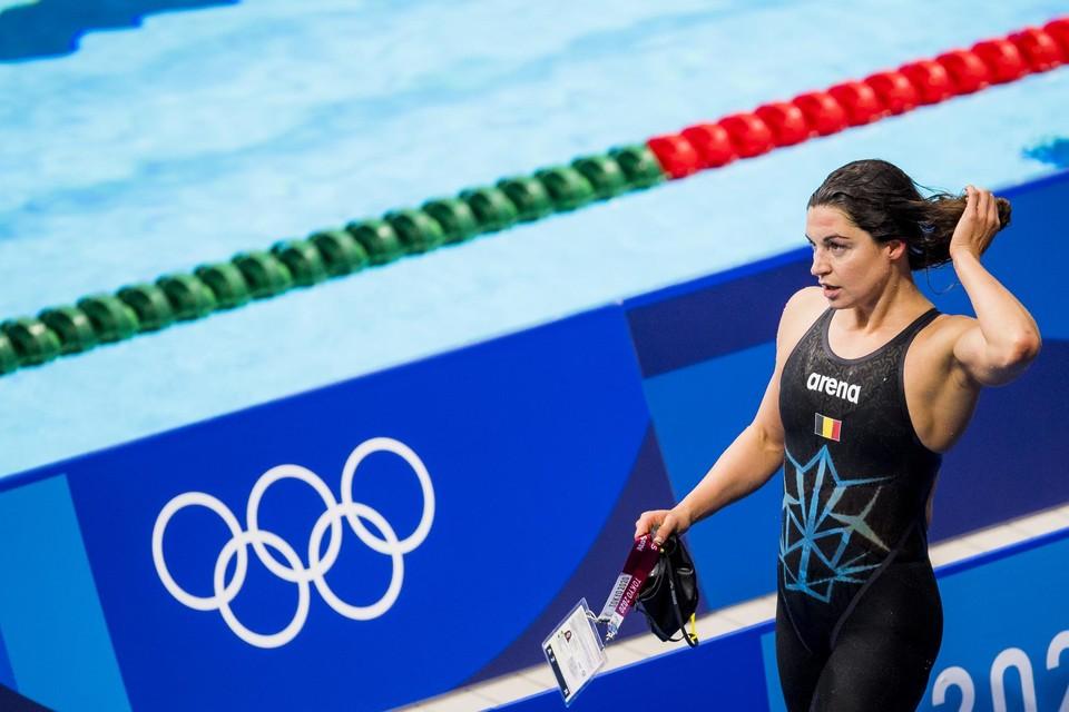 Vrijdag zwemt Fanny Lecluyse (29) haar eerste olympische finale ooit op de 200 meter schoolslag.