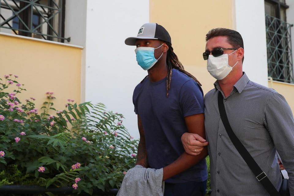 Ruben Semedo (links) naast zijn advocaat.