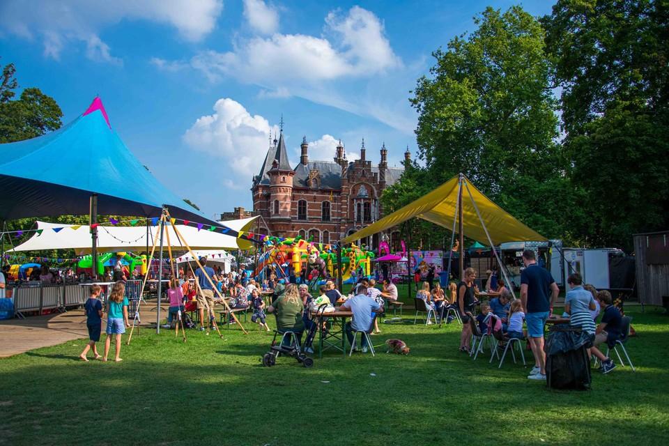 Het Druivenfestival kon op een groot aantal bezoekers rekenen.
