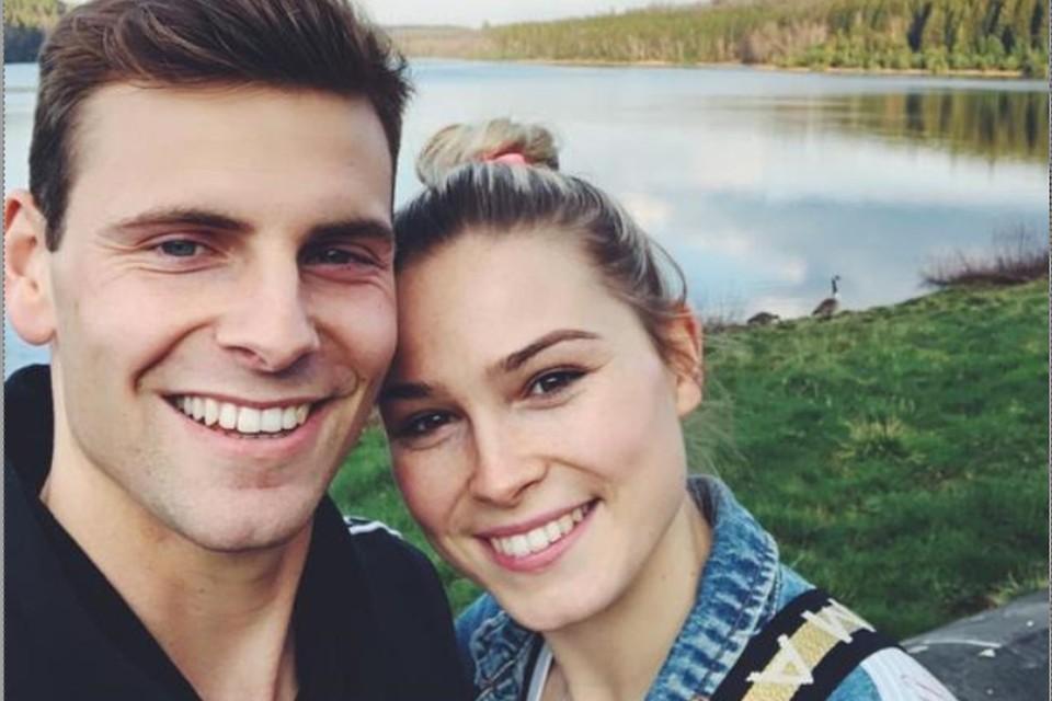 Ortwin De Wolf en zijn vriendin Jodie Guilliams.