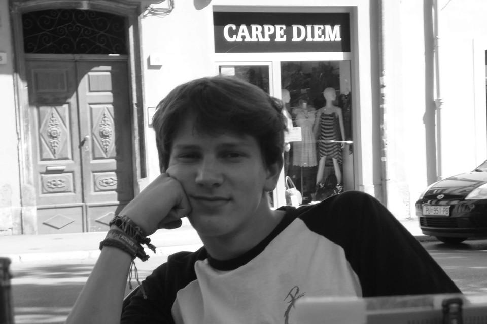 Sander werd amper 18 jaar.