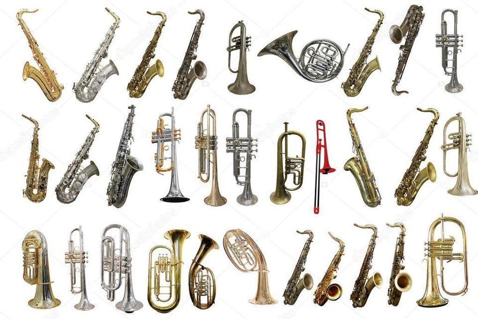 Blaasinstrumenten.