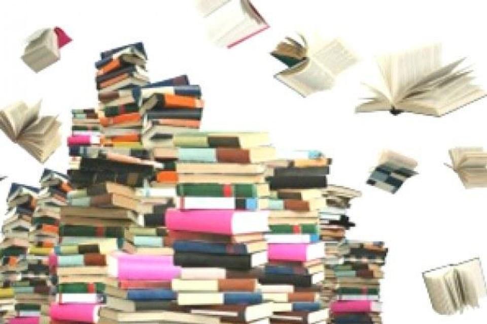 Boekenverkoop in de Bib.