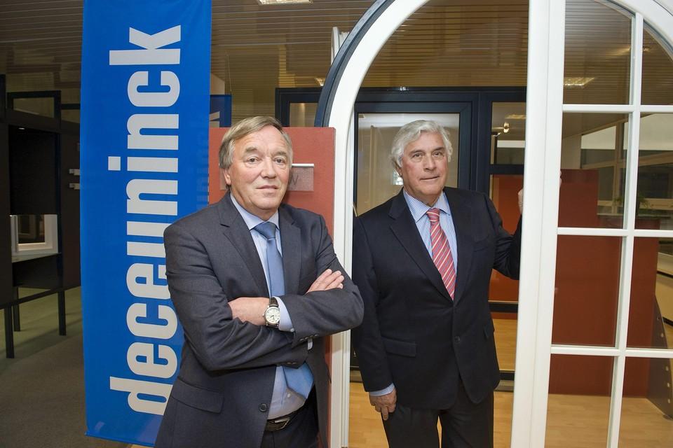 Arnold en Willy Deceuninck in 2012.