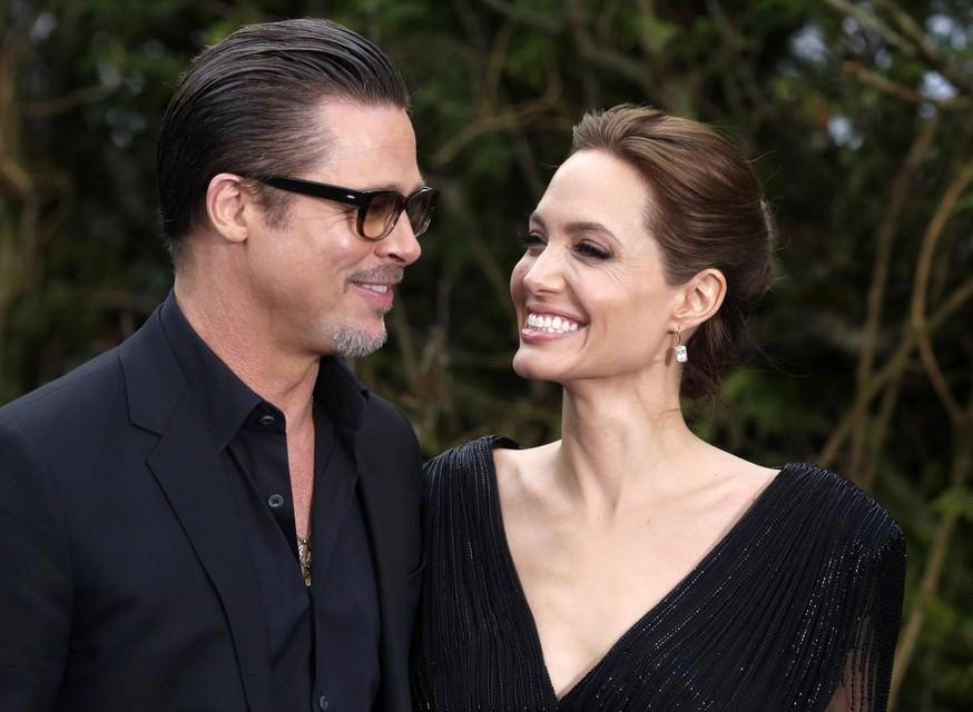 Brad Pitt en Angelina Jolie in betere tijden