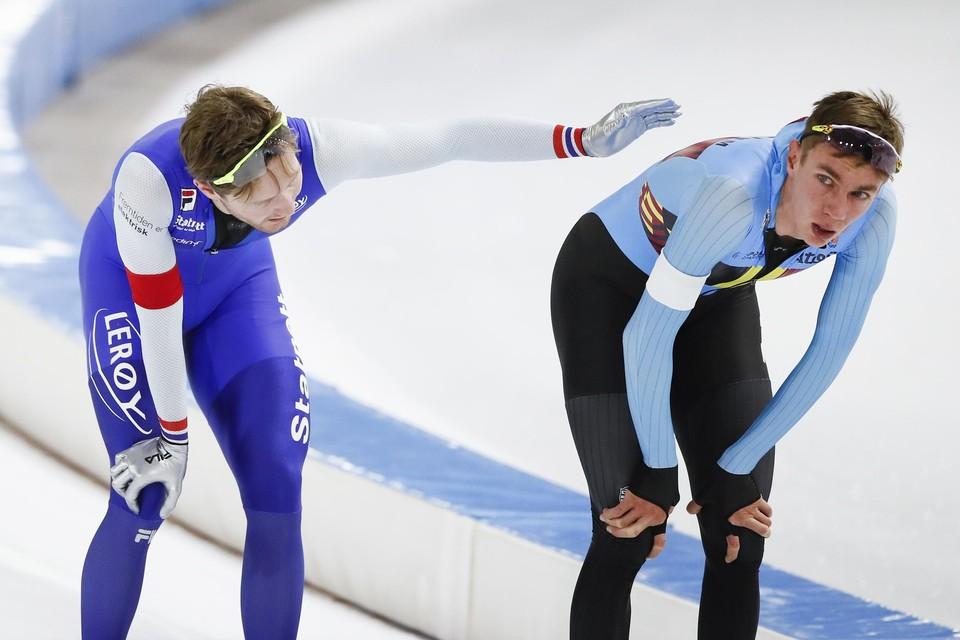 Pedersen (links) en Swings.