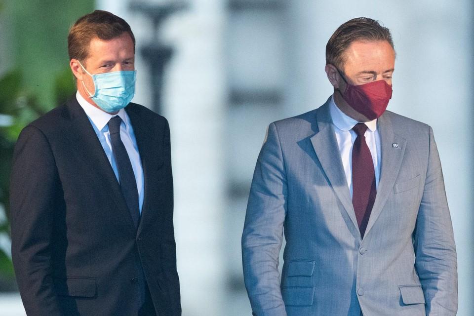 Paul Magnette en Bart De Wever.
