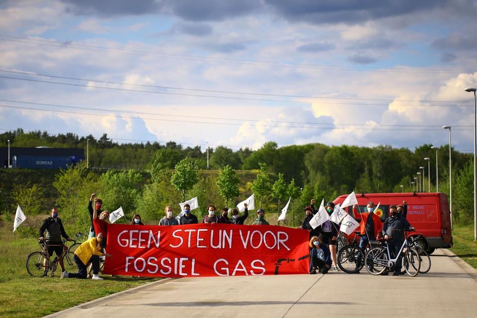 Er was heel wat lokaal protest tegen de komst van de gascentrale.