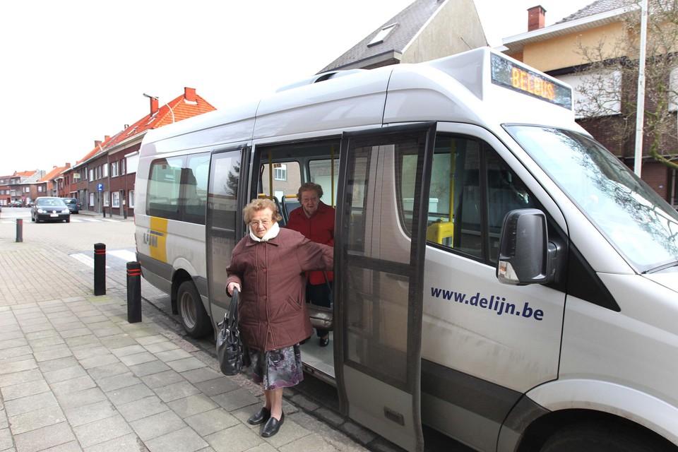 De diensten van Via zullen het systeem van de belbus vervangen.
